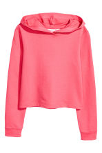 Hooded top - Coral pink - Kids | H&M 2