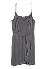 V-neck dress - Dark grey - Ladies | H&M 2