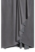 V-neck dress - Dark grey - Ladies | H&M 3