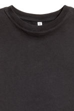 Cropped T-shirt - Black - Ladies | H&M CN 3