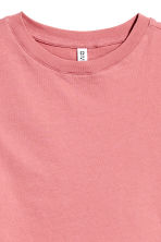 Cropped T-shirt - Coral pink - Ladies | H&M 3