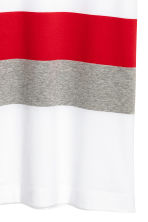 Block-patterned T-shirt - White/Red - Men | H&M 3