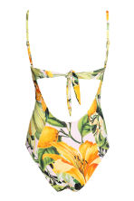 Patterned swimsuit - Yellow/Patterned - Ladies | H&M 3