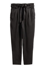 H&M+ Lyocell trousers - Black - Ladies | H&M 2