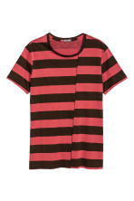 Black/Red/Striped