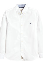 Cotton shirt - White - Kids | H&M 4