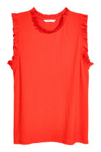Sleeveless top - Red -  | H&M CA 2