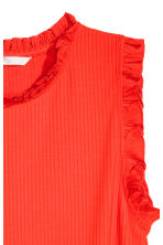 Sleeveless top - Red -  | H&M CA 3