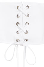 Corset belt - White - Ladies | H&M 3