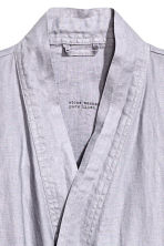 Washed linen dressing gown - Light violet - Home All | H&M IE 2
