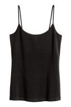Basic top - Black - Ladies | H&M 2