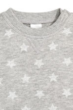 Sweatshirt - Grey/Stars -  | H&M 2