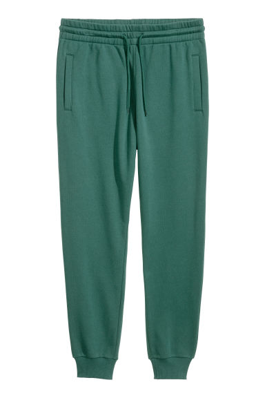 Sweatpants - Dark green - Men | H&M CN