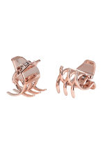 2入髮夾 - Rose gold-coloured - Ladies | H&M 1