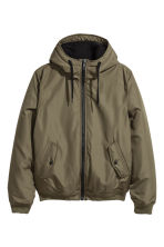 Padded jacket - Green - Men | H&M IE 2