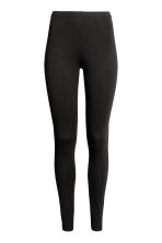 Jersey leggings - Black - Ladies | H&M 3