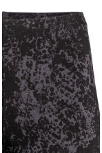 Jersey leggings - Black/Grey patterned - Ladies | H&M CN 3