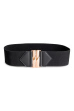 Elastic waist belt - Black - Ladies | H&M 3