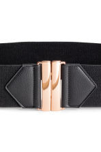 Elastic waist belt - Black - Ladies | H&M 4