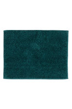 Bath mat - Dark green - Home All | H&M CN 1