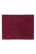Bath mat - Burgundy - Home All | H&M CA 1