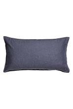 Washed linen pillowcase - Purple - Home All | H&M CA 1