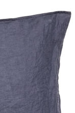 Washed linen pillowcase - Purple - Home All | H&M CA 2