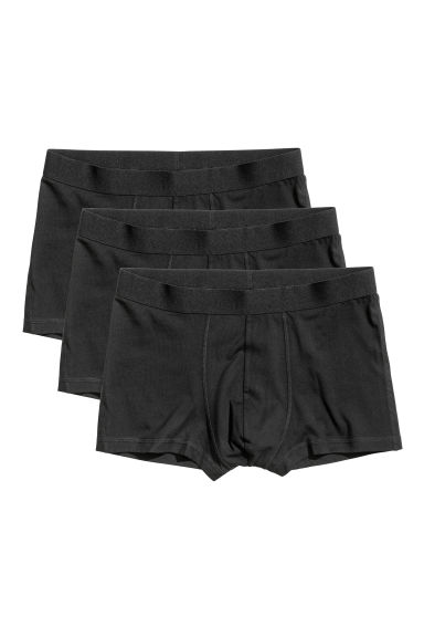 3-pack trunks - Black -  | H&M