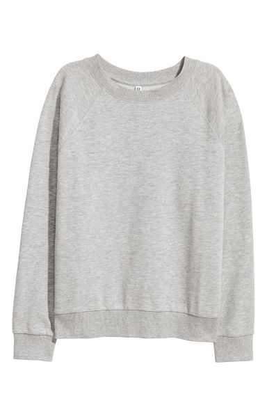 Sweater - Grijs gemêleerd - DAMES | H&M BE 1