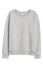 Sweatshirt - Grey marl - Ladies | H&M CN 2