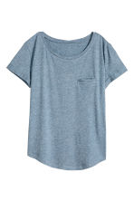Jersey top - Blue marl - Ladies | H&M CN 2