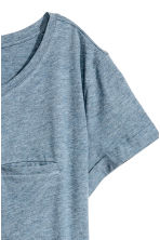 Jersey top - Blue marl - Ladies | H&M CN 3