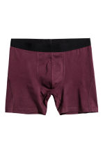 3-pack boxers - Burgundy - Men | H&M 3