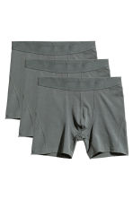 3-pack boxers - Gray -  | H&M CA 2