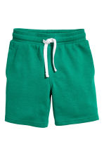 Sweatshirt shorts - Petrol green - Kids | H&M 2