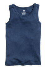2-pack vest tops - Dark blue -  | H&M 3