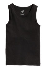 2-pack vest tops - Black -  | H&M 3