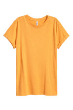 Jersey top - Mustard yellow - Ladies | H&M CN 1