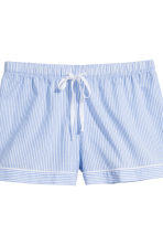 棉質睡衣套裝 - Blue/White/Striped - Ladies | H&M 3