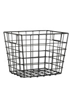 Storage basket - Black - Home All | H&M GB 1