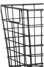 Storage basket - Black - Home All | H&M GB 2