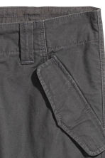 Cargo trousers - Anthracite grey - Men | H&M 4