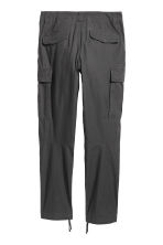 Cargo trousers - Anthracite grey - Men | H&M 3