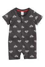 2-pack all-in-one pyjamas - Grey/Superman - Kids | H&M CN 2