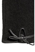 Wool-blend gloves - Black - Ladies | H&M CA 3