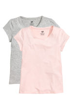 T-shirt, 2 pz - Rosa chiaro -  | H&M IT 2
