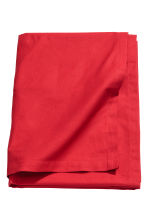 Cotton tablecloth - Red - Home All | H&M IE 1