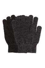2-pack gloves - Black/Grey - Ladies | H&M 1