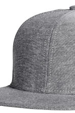 Cotton-blend cap - Grey - Men | H&M CN 3