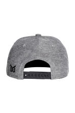 Cotton-blend cap - Grey - Men | H&M CN 2